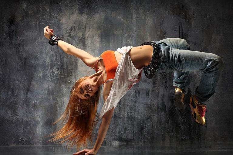 Taniec pokazowy